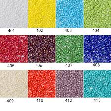 Toho Beads Color Chart Japanese Metallic Seed Beads Toho Round Glass Seed Beads Galvanized Orchid Color 2 0mm 11 0 5grams Lot About 500pcs