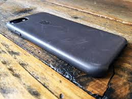 leather case for iphone 7 back storm gray