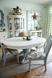 chalk paint table dining and chairs makeover with old white kitchen diy