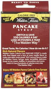 amazon walden farms ready to serve pancake syrup packets maple 12 oz beauty