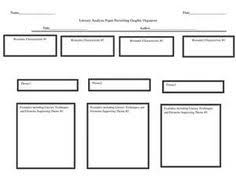 literary analysis peer editing checklist editing checklist and literary analysis essay graphic organizer by huanglianjiang1
