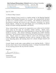 Recommendation Letter Teaching Position Recommendation Letter For Student From Teacher Student