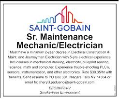 Journeyman Electrician Job Description Flow Team Member Job