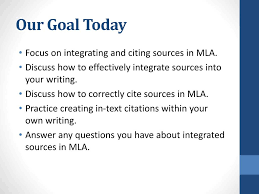 Ppt Mla Source Integration Powerpoint Presentation Id5770912