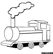 Color and add scenery to the picture of this rapidly moving vehicle. Train Coloring Page Free Train Online Coloring Train Coloring Pages Tsgos Com