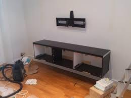 hanging ikea besta wall cabinets best of floating tv bench burs model thanks to r diy ikea kitchen microwave shelf