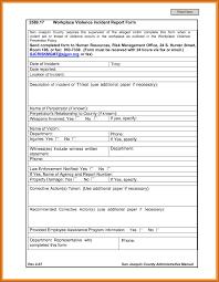 Incident Report Form Osha Magdalene Project Org