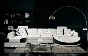 Black and white chairs living room Striped Amazoncom Vig Furniture T57b Ultra Modern Sectional Sofa Kitchen Dining Amazoncom Amazoncom Vig Furniture T57b Ultra Modern Sectional Sofa Kitchen