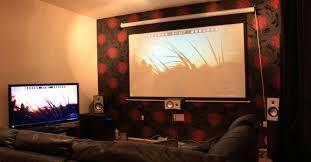 Com um projetor isso fica fácil,. O Que Esperar De Um Projetor Hd Em Comparacao Com Uma Tv
