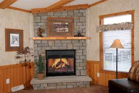 image of raised hearth fireplace designs