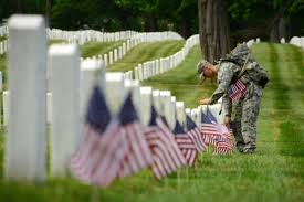 Image result for us flags at arlington