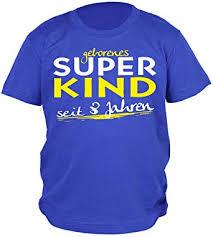 8geburtstag Sprüche T Shirt Kindergeburtstag Junge Geborenes