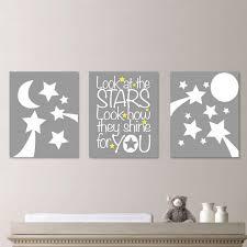 stars nursery wall art