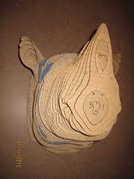 cardboard trophy wall cardboard animaiy cardboarddiy trophybear headmoose