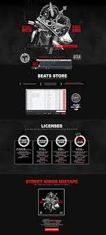 Soundclick Website Design Custom Soundclick Layout For Def Street Vms