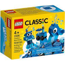 Đồ Chơi Lắp Ghép LEGO Classic Hộp Lắp Ráp Sáng Tạo Xanh Dương 11006 (52 Chi  Tiết) tại Hà Nội