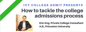 ivy college admit seminar how to get into the ivy league ivy college admit seminar how to get into the ivy league