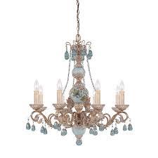 cerulean 8 light chandelier