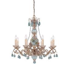 cerulean 8 light chandelier