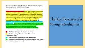 a three paragraph essay example