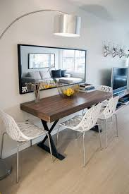small living room with dining table awesome round dining table and chairs