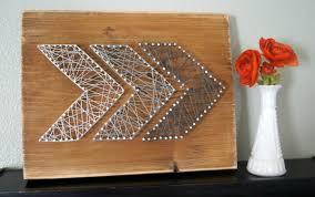 wood nails and string art - Nail Art Ideas