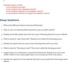 essay on listening and speaking skills thinking before speaking essay