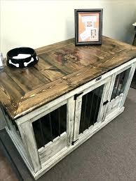 dog cage furniture fabulous side table dog kennel side table plans side table dog kennel side