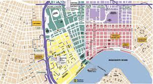 garden district new orleans walking tour map. Interesting District New Orleans Area Maps City Map  For Garden District Walking Tour Map D