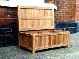 outdoor storage chest