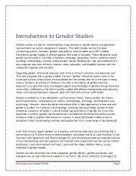 gender studies   6