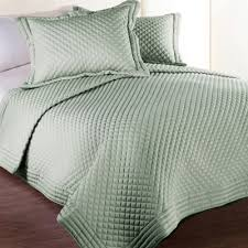 sage green quilt. Simple Sage Clean Living Diamond WaterStain Resistant FullQueen Quilt In Sage For Green V