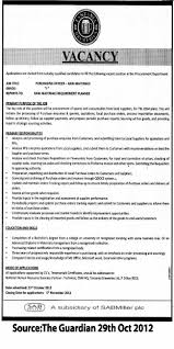 Purchasing Officer Raw Materials Tayoa Employment Portal
