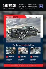 Auto Detailing Brochure Template Mega Car Sale Flyer
