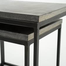 nesting end tables. Four Hands Furniture Harlow Nesting End Tables CIMP-11L I