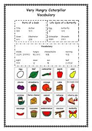Bunch Ideas of The Very Hungry Caterpillar Worksheets About ...