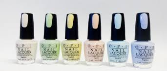 Opi Nail Polish Color Pastel Collection T71 To T76 Your