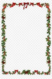 Holiday Borders For Word Documents Free Christmas Frame Png Clipart Word Document Christmas Border Free