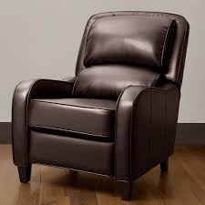 dark brown leather recliner chair. most seen images in the comfortable recliners for small spaces gallery dark brown leather recliner chair