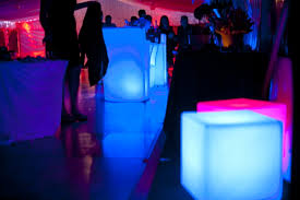 Glow Furniture Glow Furniture Hire Glow Bars And Illuminated Products For Hire