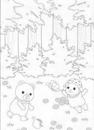 Luxury Loving Family Dollhouse Coloring Pages Fangjianme
