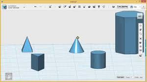 123d Design Basics 123d Design Tutorial Basics 1 6 Introducing The Workspace
