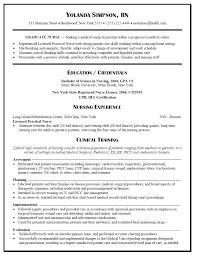 Example Of Nursing Resume Nardellidesign Com