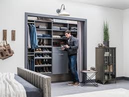 30 Custom Reach In Closet Storage System Designs