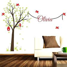 white tree decal large tree wall stickers baby room wall decals white tree decal large tree wall stickers baby room wall decals flower decals family tree