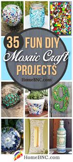 35 fun diy mosaic craft projects for a unique and colorful space