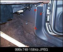 32 steps to removing a zj dash(96 98) jeepforum com Jeep Cherokee Fuse Box Removal 18 behind this kick panel just above the fuse box somewhere is the antenna cable, find and disconnect it jeep cherokee fuse box removal