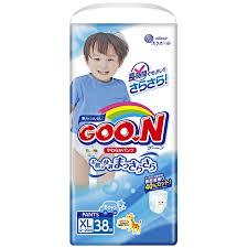 <b>Подгузники</b>-трусики для мальчиков <b>Goon xl 12-20</b> кг, 38 шт ...
