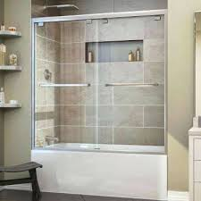 inspiring tub shower enclosures on amazing glass doors passsliding bathtub with for