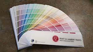 Pratt Lambert Paint Color Chart Fan Deck Buy Online In